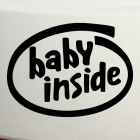 Decal Baby Inside