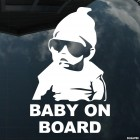 Decal Baby on Board Hangover