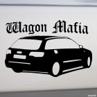 Decal Audi A6 Wagon Mafia