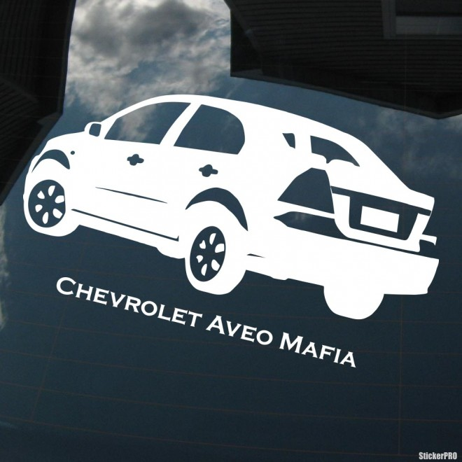 Decal Chevrolet Aveo Mafia