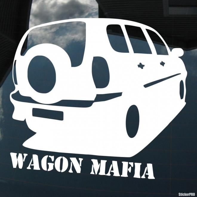 Decal Chevrolet Niva Wagon Mafia