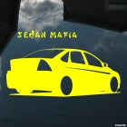 Decal Ford Focus 2 Sedan Mafia