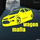 Decal Ford Focus Wagon Mafia