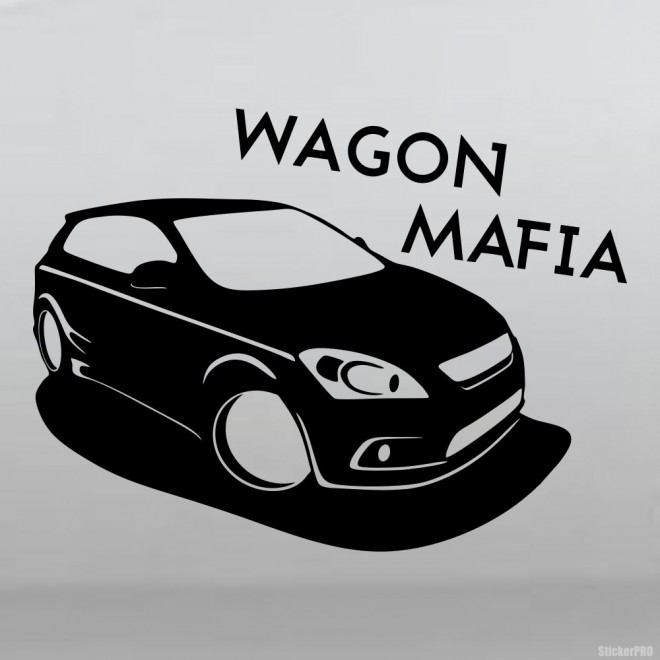 Decal Ford Focus Mafia