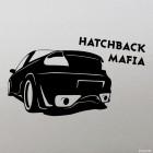 Decal Hatchback Mafia