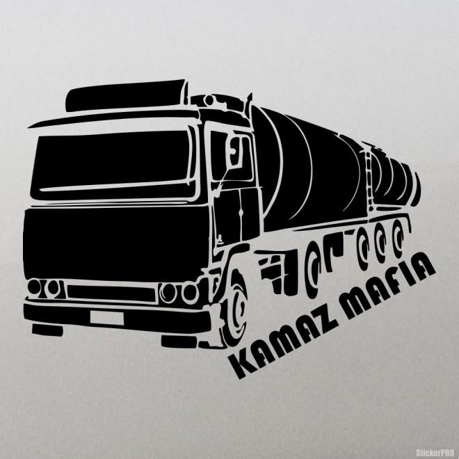Decal KAMAZ Mafia