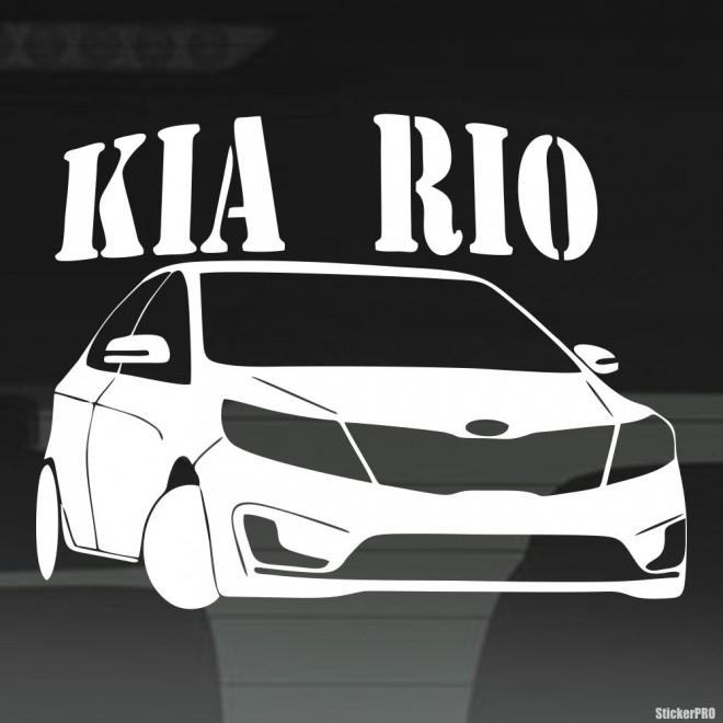 Decal KIA Rio Club