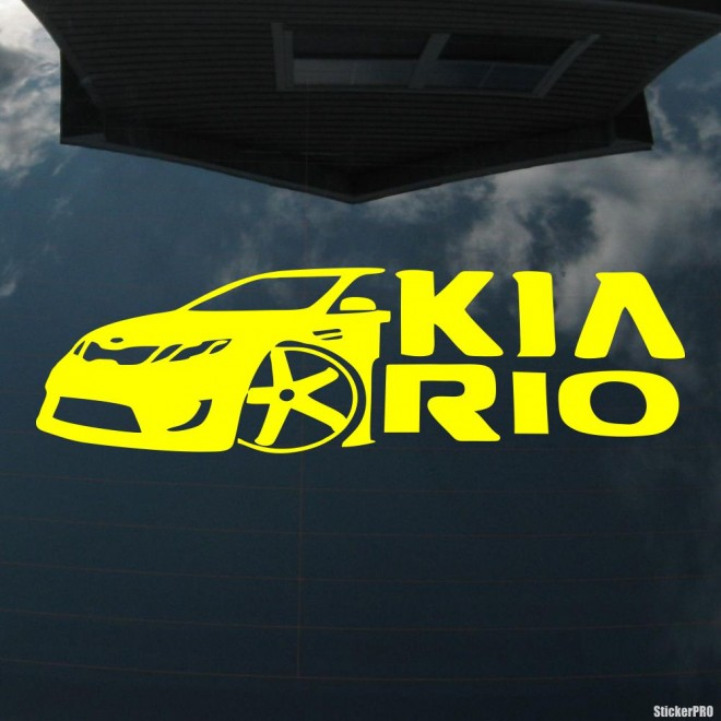 Decal KIA Rio Club Automafia