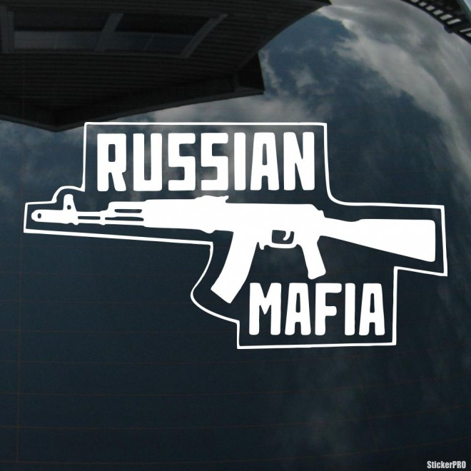 Decal Russian Mafia АК-47