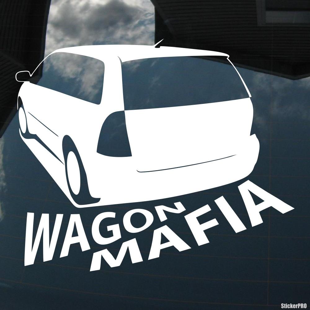 Decal toyota corolla fielder wagon mafia