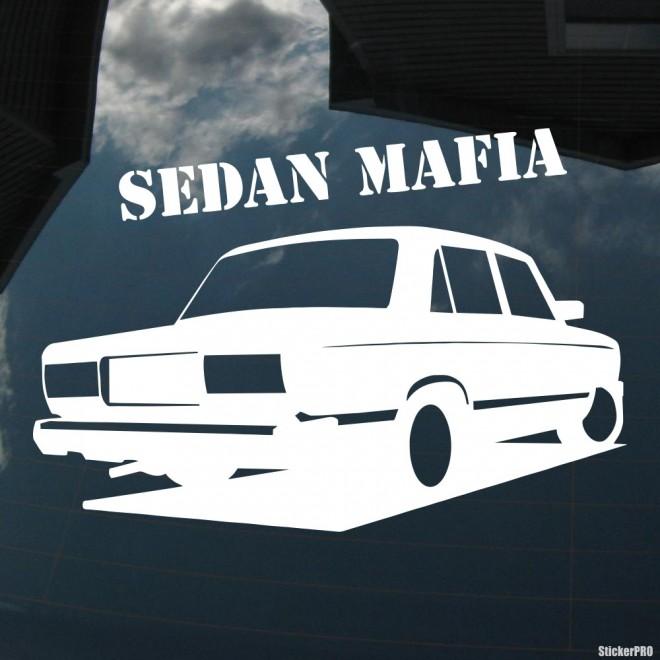 Decal LADA 2105 Sedan Mafia