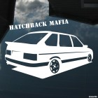 Decal 2109 Samara Hatchback Mafia