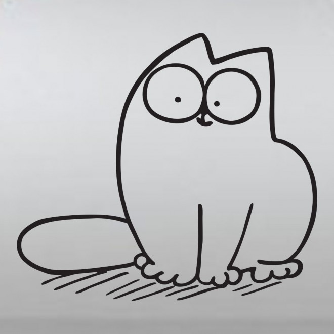 Decal Simon's Cat the cutie