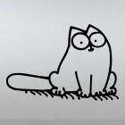 Decal Simon's Cat cutie