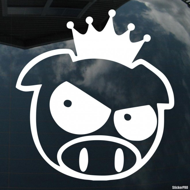 Decal JDM Subaru Pig King