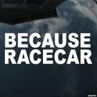 Decal because racecar JDM