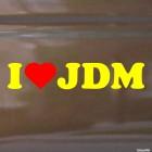 Decal I Love JDM