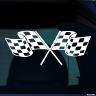 Decal racing flags