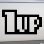 Decal 1up extra life Super Mario Bros JDM