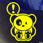 Decal Attention Team Panda JDM