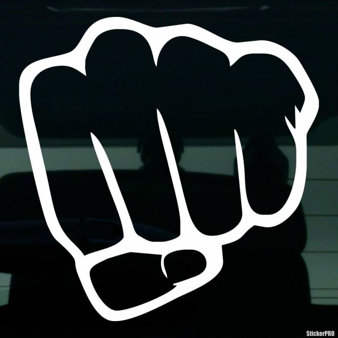Decal fist gesture