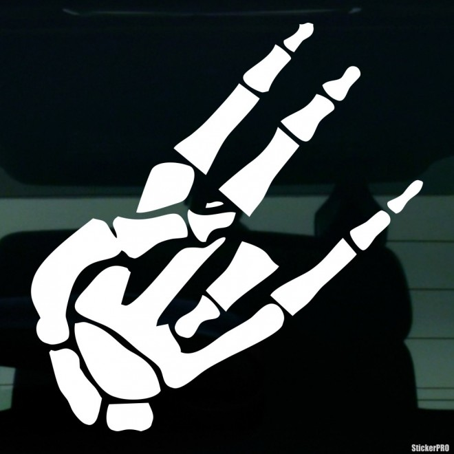 Decal skeleton gesture JDM Shocker