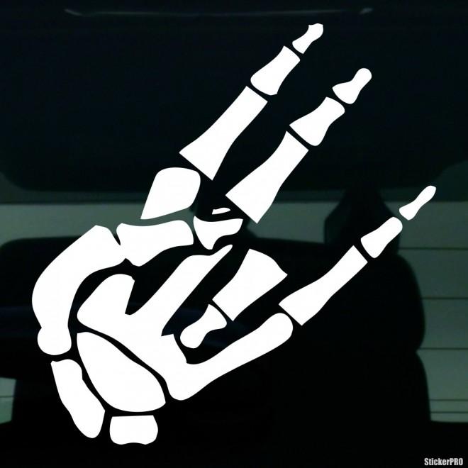 Decal skeleton gesture JDM Shocker