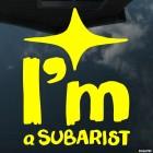 Decal I'm a Subarist JDM 2