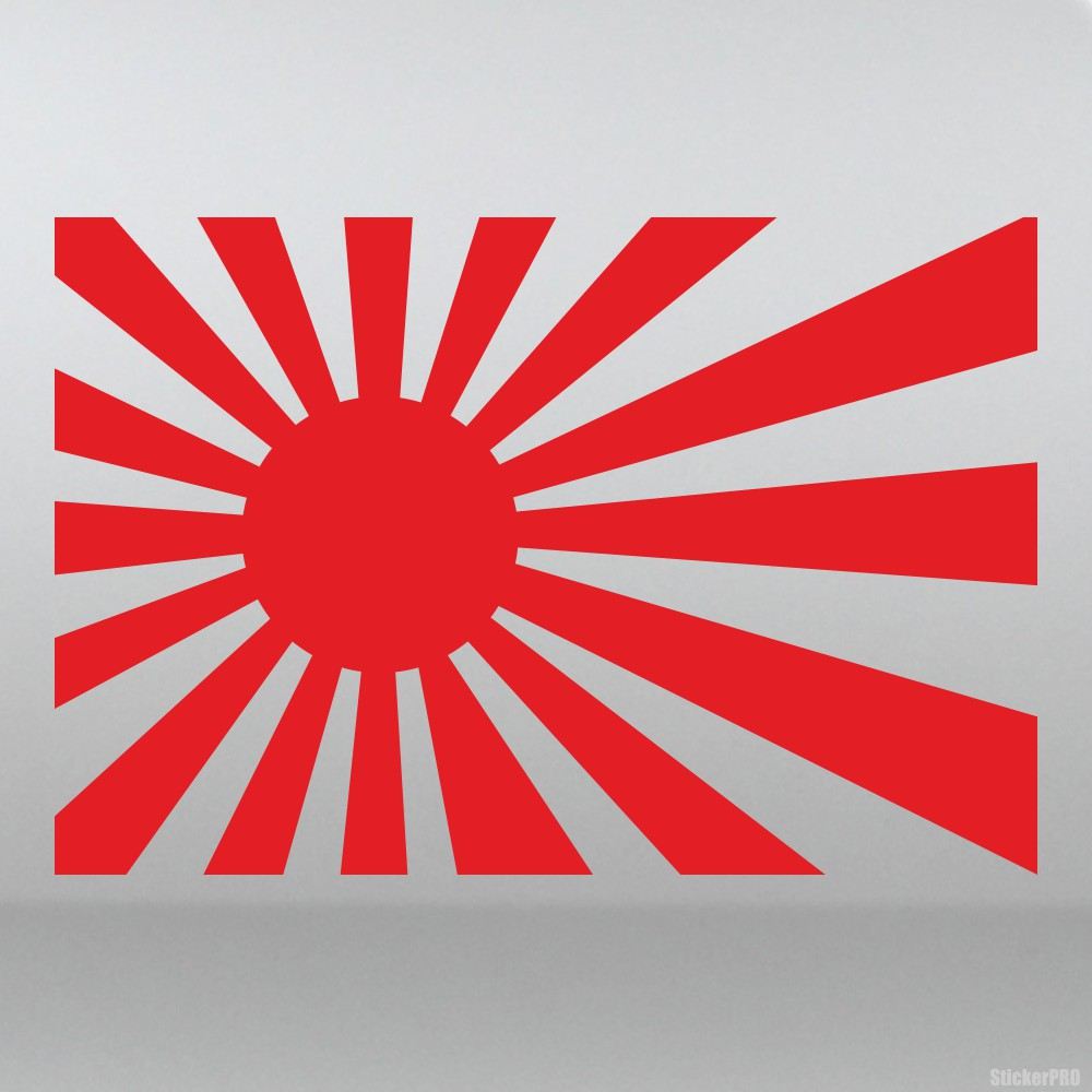 Decal Japanese flag sun - Buy vinyl decals for car or ...