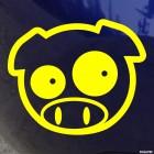 Decal JDM Subaru Pig Classic