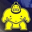 Decal sumo wrestler