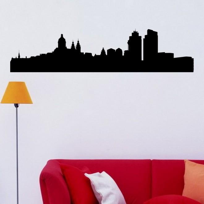 Decal Amsterdam skyline