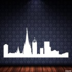 Decal Barcelona skyline