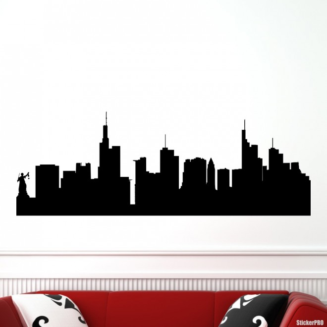 Decal Frankfurt skyline