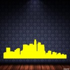 Decal Los Angeles skyline