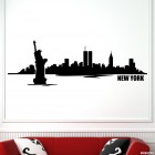 Decal New York skyline 3
