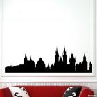 Decal Prague skyline