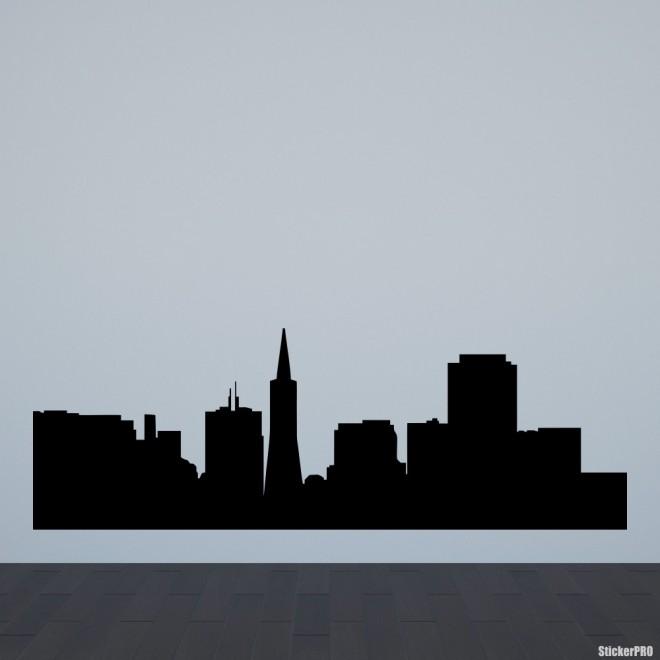 Decal San Francisco skyline