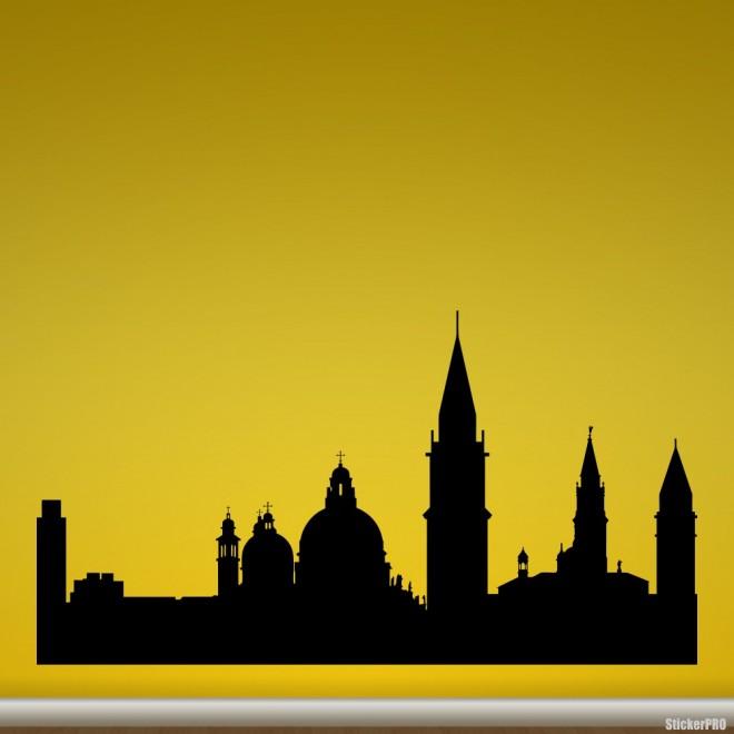 Decal Venice skyline