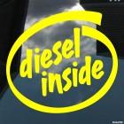 Decal Diesel Inside
