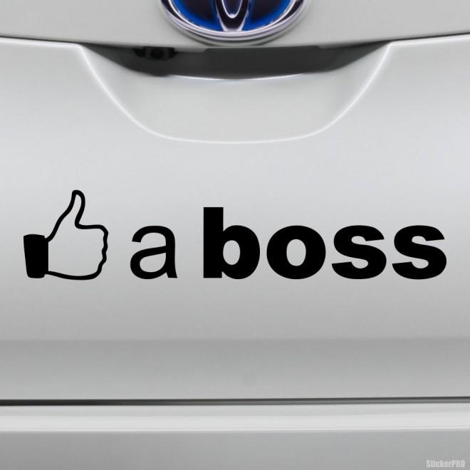 Decal Like a boss
