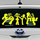 Decal I beat Toyota, Nissan and Honda