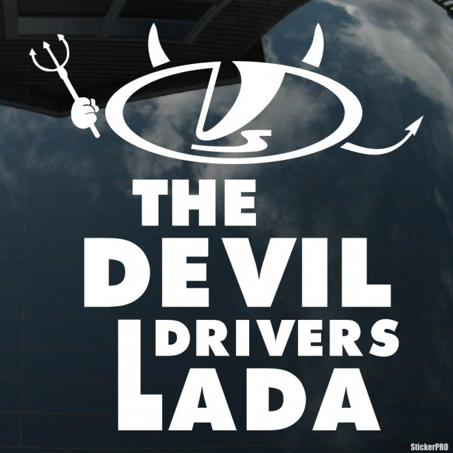 Decal The Devil Drivers LADA