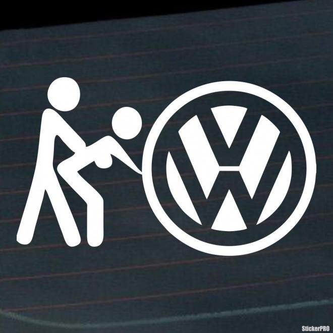 Decal VW Volkswagen sex