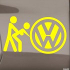 Decal VW Volkswagen sex