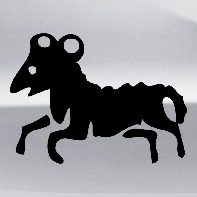 Decal Astrological sign Aries (v.I)