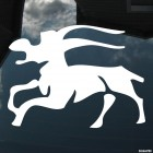 Decal Astrological sign Capricorn (v.I)