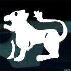 Decal Astrological sign Leo Zodiac (v.I)