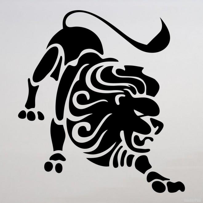 Decal Astrological sign Leo Zodiac (v.II)