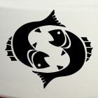 Decal Astrological sign Pisces (v.II)